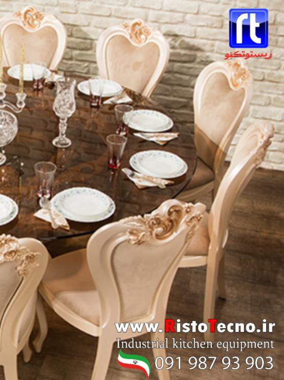 میز و صندلی پلیمری