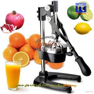 آب-پرتقال-گیری-آب-انار-گیری-دستی-اهرمی-استیل