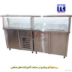 خط-کانتر-سرد-و-کانتر-گرم-آشپزخانه-سلف-سرویس