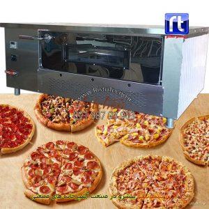 فر-پیتزا-آجری-صندوقی-دیجیتال-12-بشقاب-طرح-چپ-دست