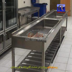 وان-شستشوی-سبزیجات-از-جنس-استیل-صنعتی