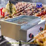 کباب-پز-رومیزی-گازی-استیل-11-شعله