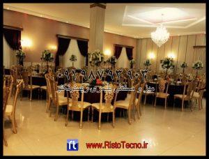 پروژه های انجام شده تالار و رستوران