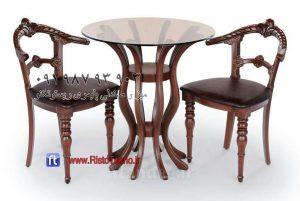 میز پلیمری گلدانی